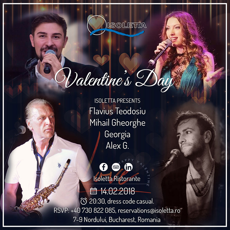 Isoletta Restaurant Valentine S Day 2018